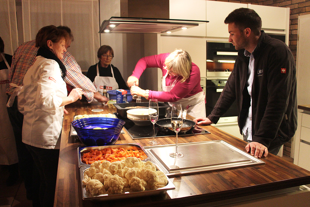 Kochevent im LM Küchenstudio